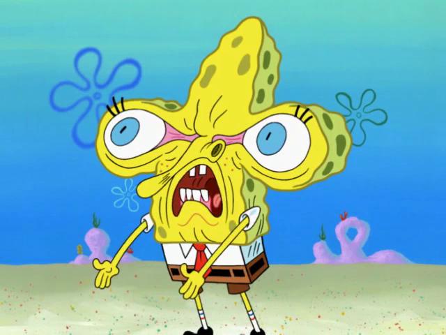 spongebuddy mania spongebob episode face freeze