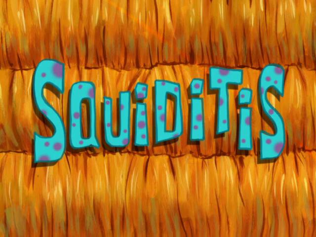 Spongebuddy Mania Spongebob Transcripts Squiditis