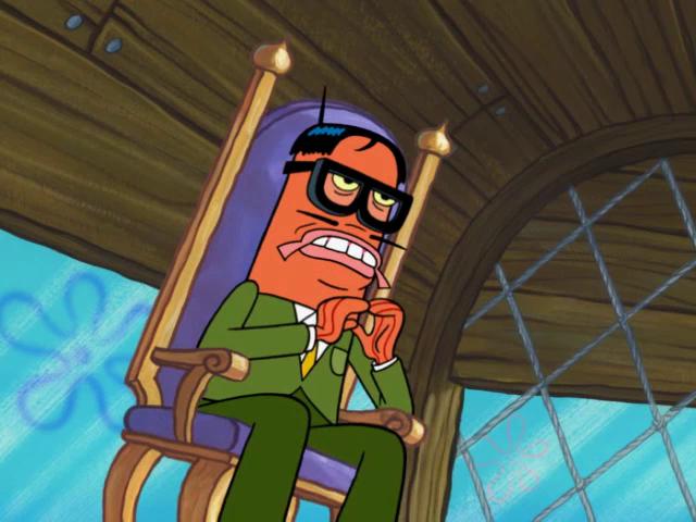 Spongebuddy Mania Spongebob Characters Agent Twerp