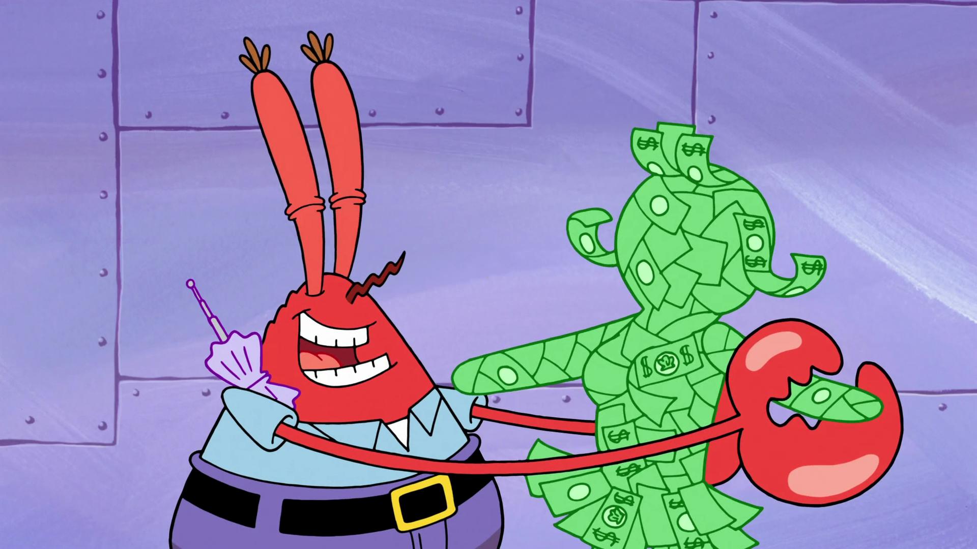 spongebuddy mania spongebob characters mrs greenback