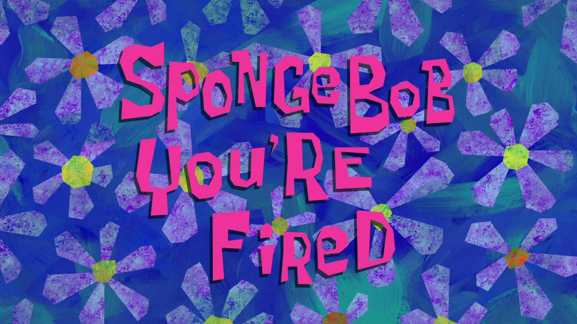 Spongebuddy Mania Spongebob Transcripts Spongebob You