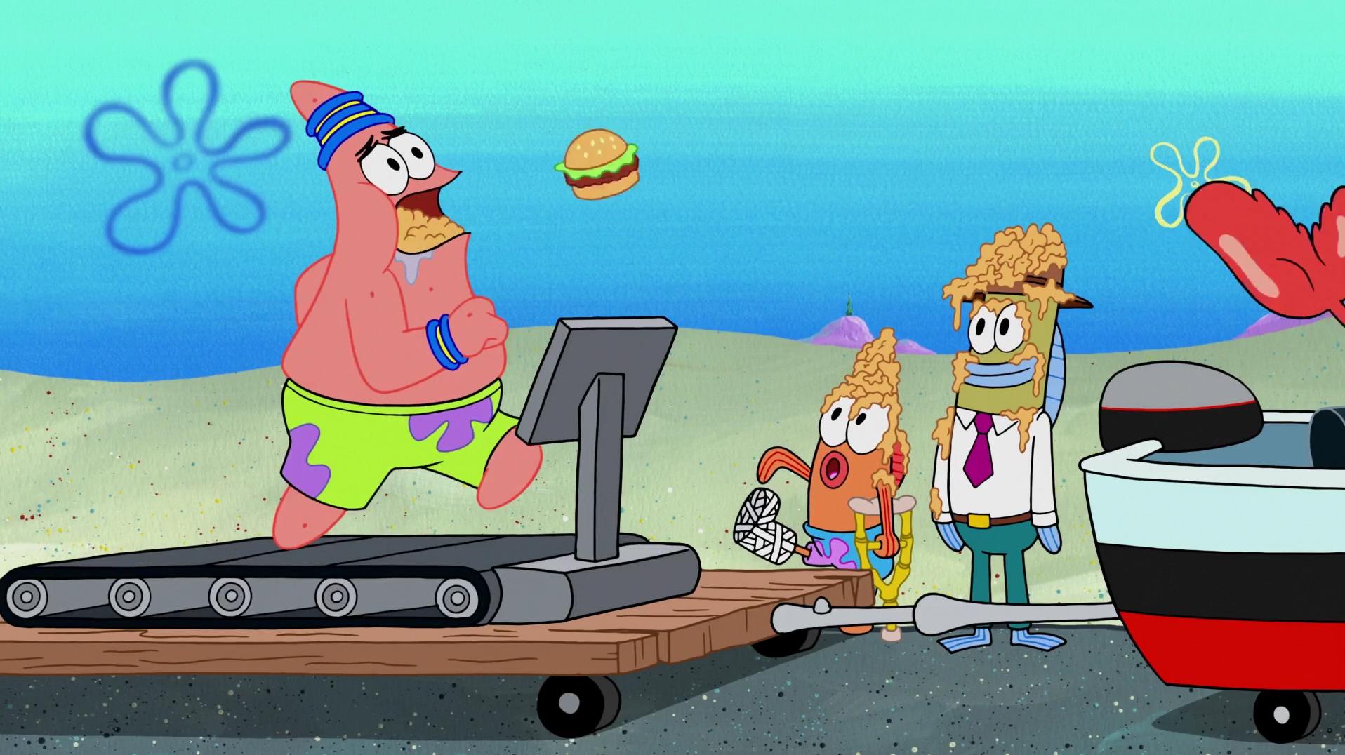 spongebuddy mania spongebob episode what u0027s eating patrick