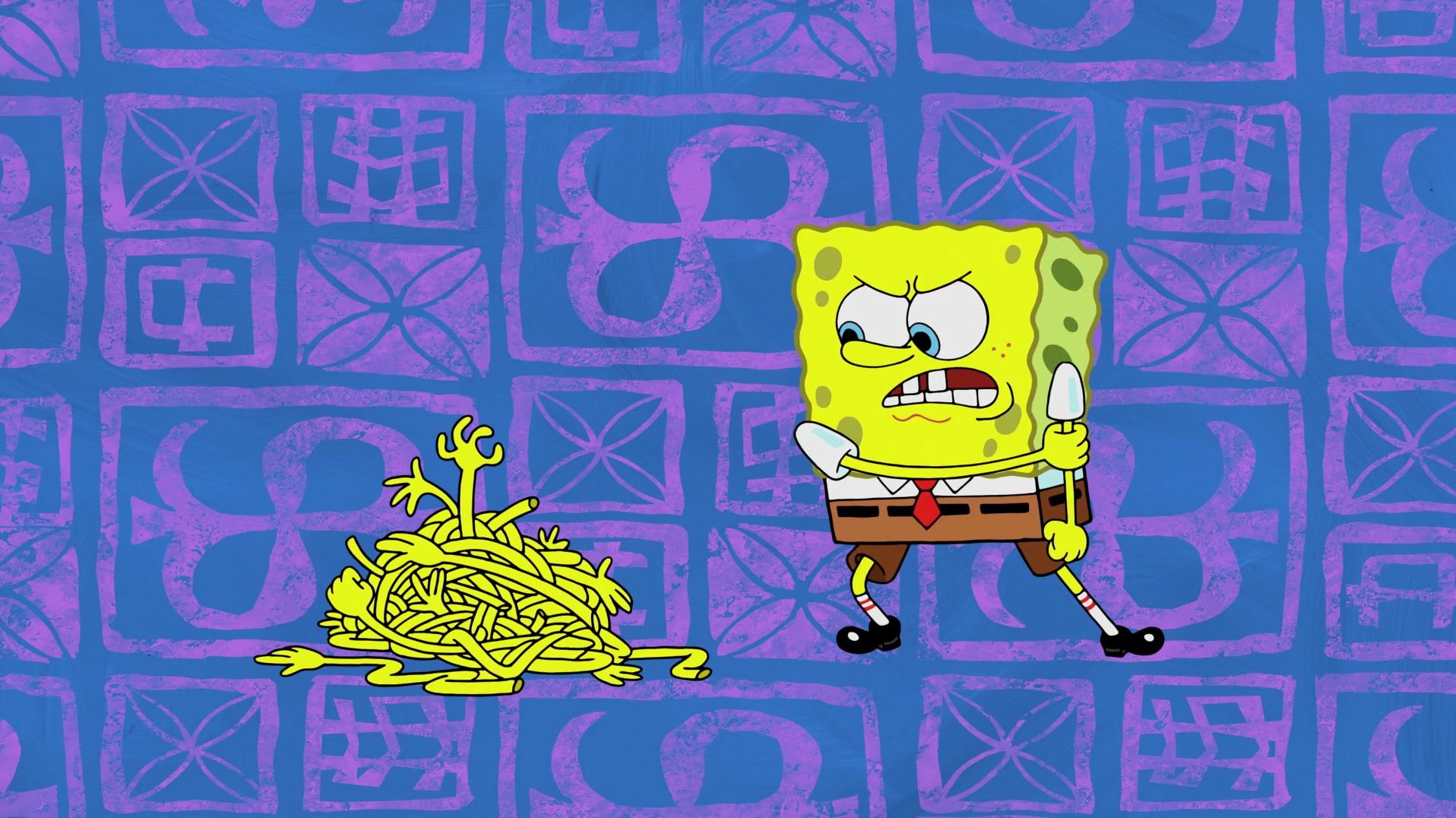 SpongeBuddy Mania - SpongeBob Episode - Larry's Gym