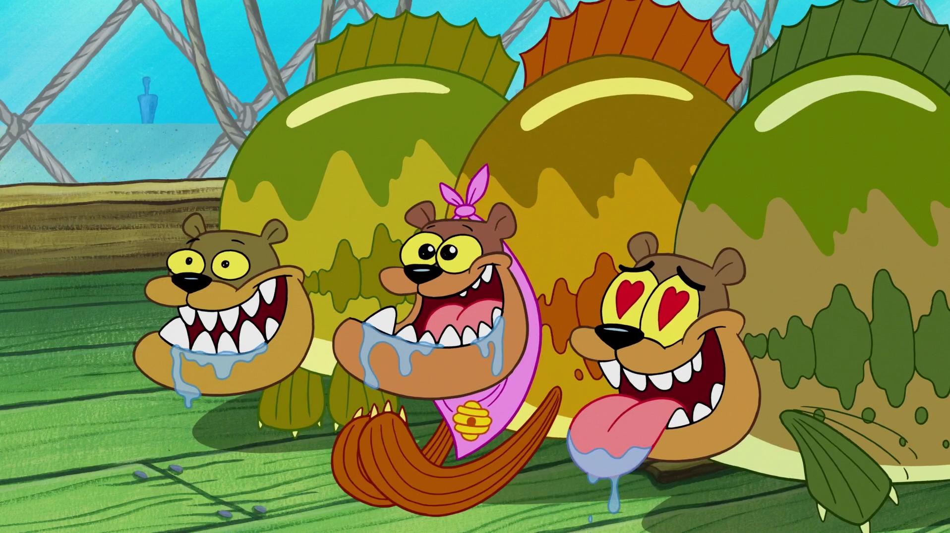 Spongebuddy mania spongebob episode married to money for Spongebob characters fish