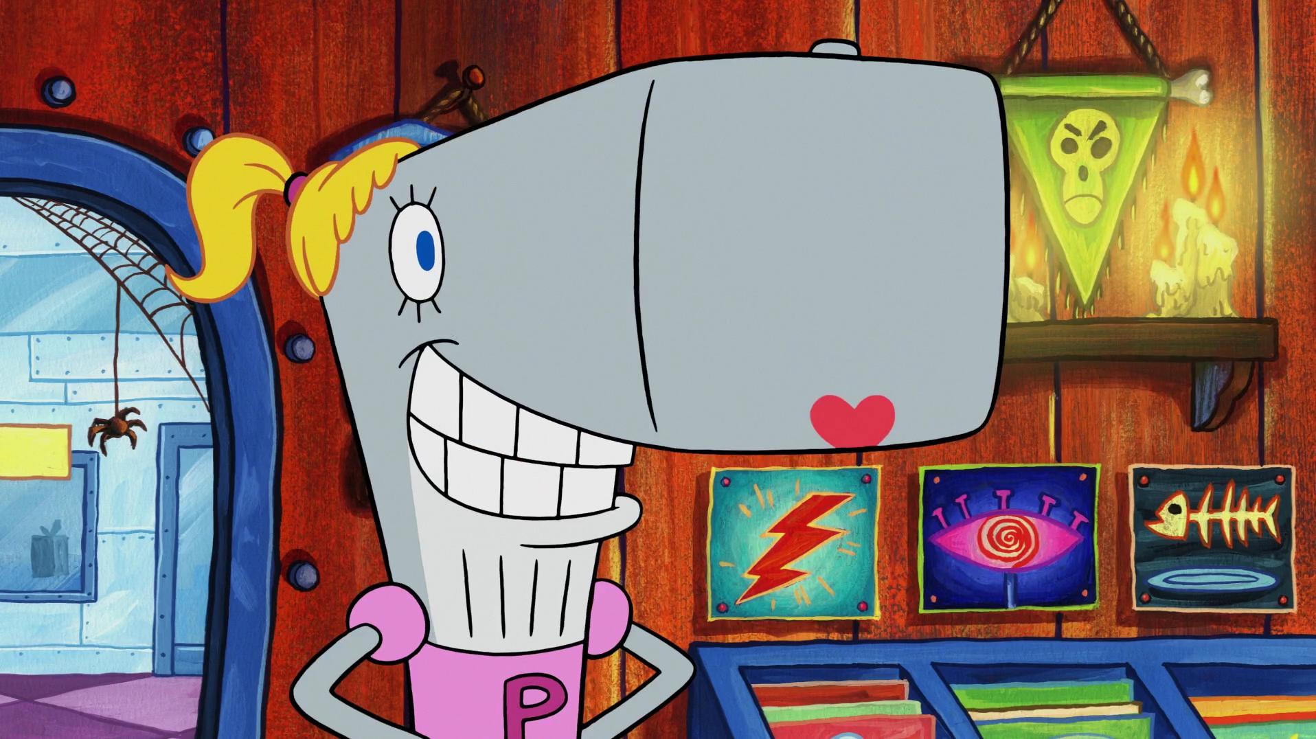 SpongeBuddy Mania - SpongeBob Episode - Mall Girl Pearl