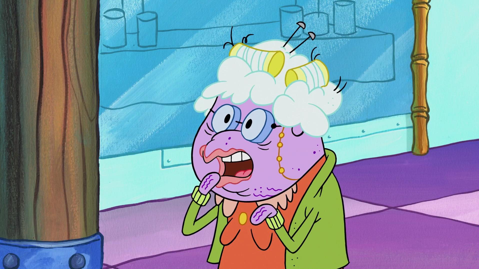 spongebuddy mania spongebob characters beatrice