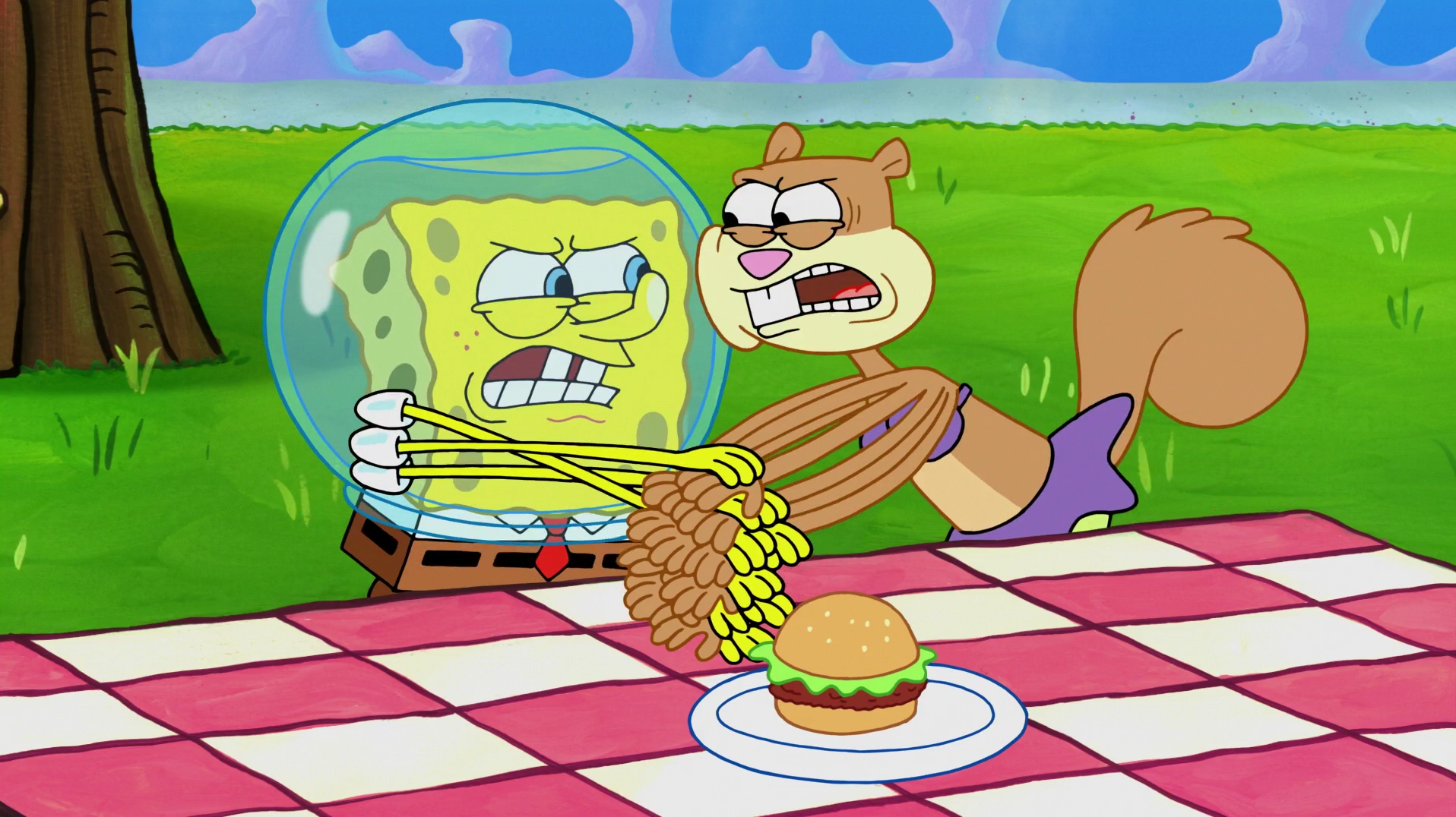 SpongeBuddy Mania - SpongeBob Episode - Sandy's Nutmare