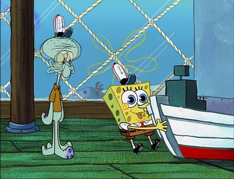 astronaut spongebob squids day off - photo #8