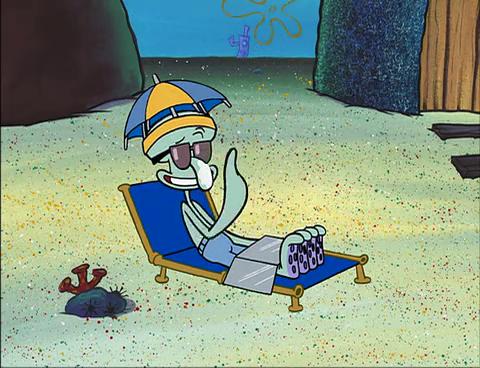 astronaut spongebob squids day off - photo #43