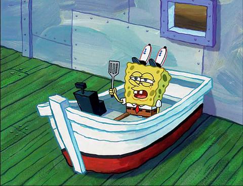 astronaut spongebob squids day off - photo #31