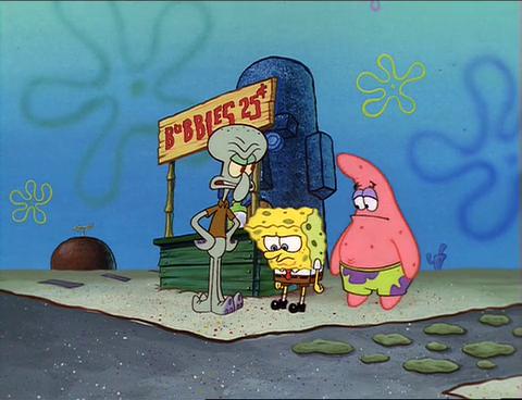 Spongebuddy Mania Spongebob Episode Bubblestand