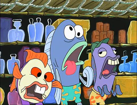 SpongeBuddy Mania SpongeBob Episode Squirrel Jokes