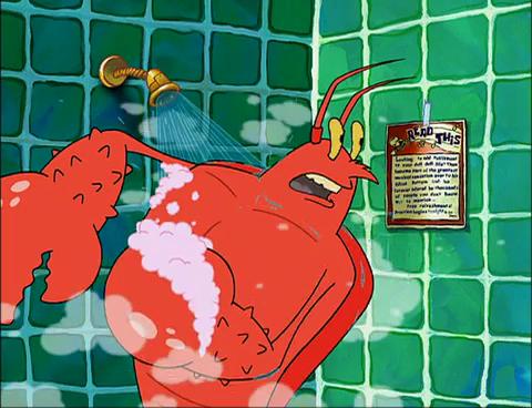 SpongeBuddy Mania - SpongeBob Characters - Larry the Lobster
