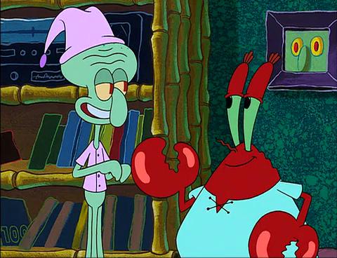 Spongebuddy Mania Spongebob Episode Squid On Strike