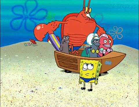 spongebuddy mania spongebob episode spongeguard on duty
