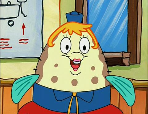 Mrs puff from spongebob cannot