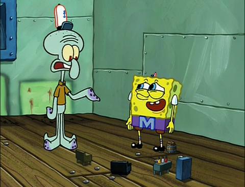 SpongeBuddy Mania - SpongeBob Episode - Mermaidman and Barnacleboy IV