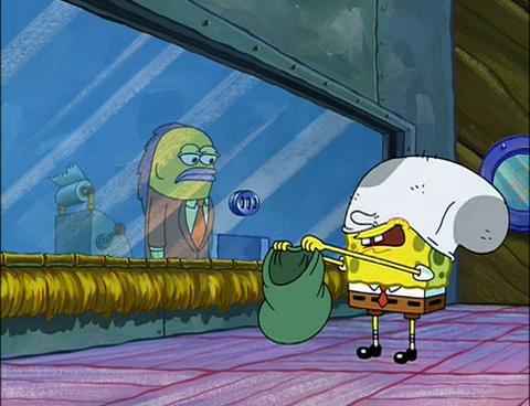 SpongeBuddy Mania - SpongeBob Episode - Doing Time