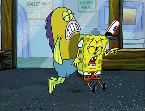Spongebob as seen on tv
