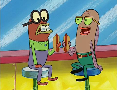 Spongebuddy mania spongebob characters weenie 2 for Spongebob characters fish
