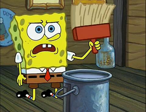 Spongebuddy Mania Spongebob Episode Wet Painters