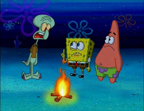 SpongeBuddy Mania - SpongeBob Episode - The Camping Episode