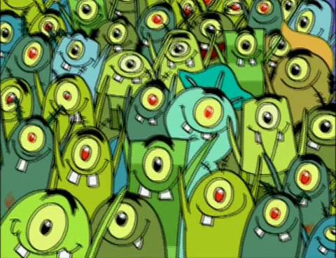 SpongeBuddy Mania - SpongeBob Episode - Plankton's Army