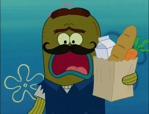 Spongebuddy Mania Spongebob Characters Tattletale Strangler
