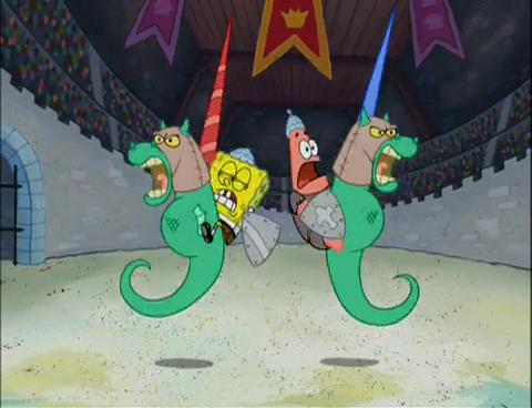Spongebuddy Mania Spongebob Episode Dunces And Dragons
