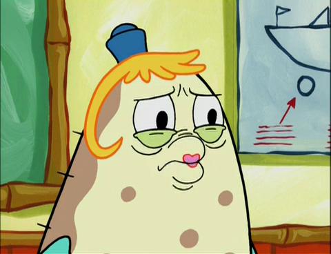 spongebuddy mania spongebob episode mrs puff youre
