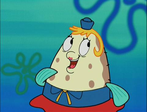 Drive Time Locations >> SpongeBuddy Mania - SpongeBob Characters - Mrs. Puff