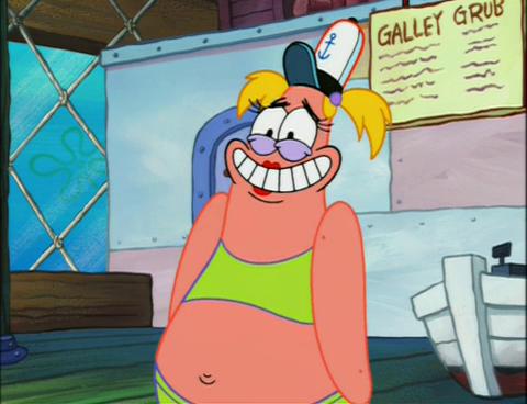 patricia spongebob
