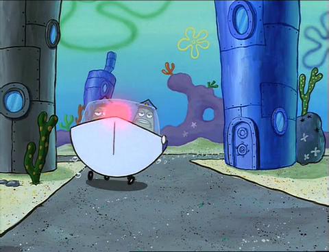spongebuddy mania spongebob episode hall monitor