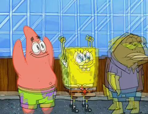 SpongeBuddy Mania - SpongeBob Episode - Roller Cowards