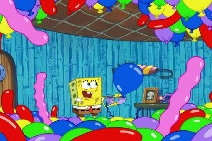 Spongebuddy Mania Spongebob Transcripts Balloons