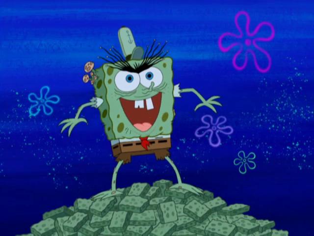SpongeBuddy Mania - SpongeBob Episode - Moldy Sponge